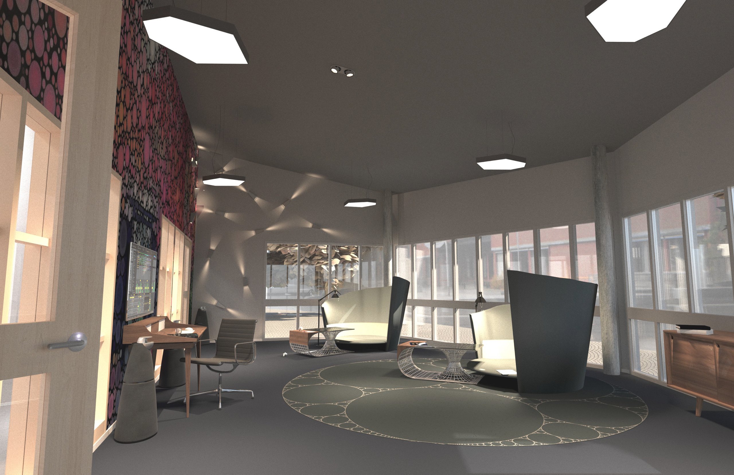 Design suggestion for Åkerskolan in Nässjö, by Sebastian Galo
