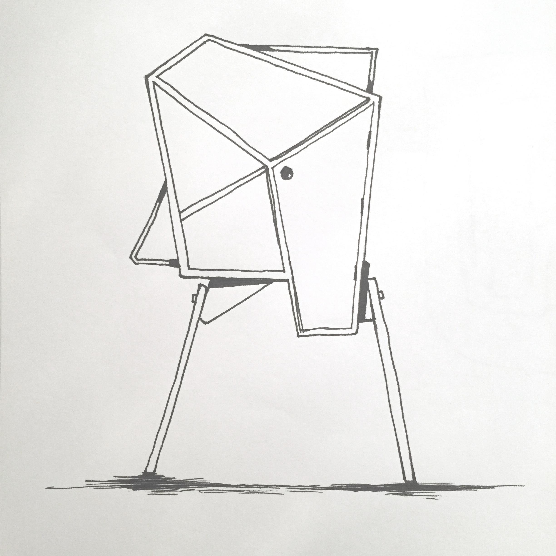 Cabinet doodle by Sebastian Galo